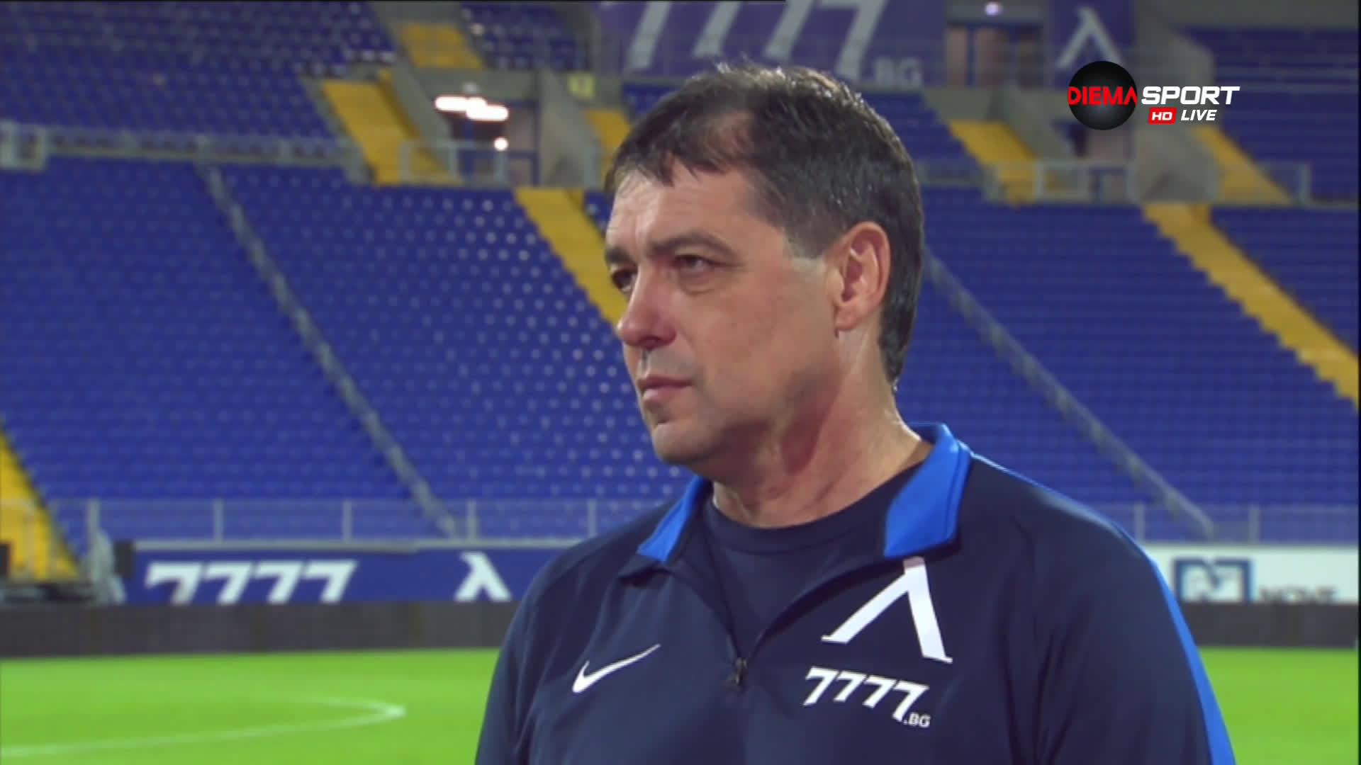 Хубчев: Хареса ми характера на отбора