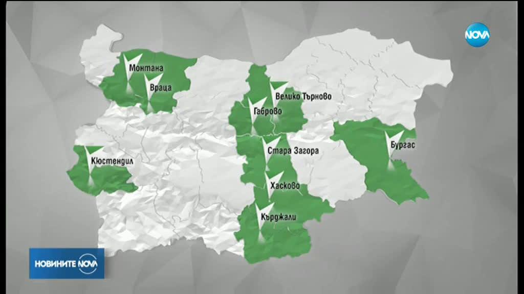 18 областни града избират кметове на балотаж