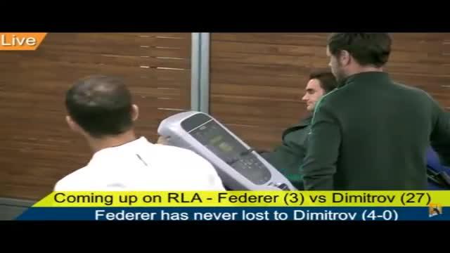 Демонтираха скандалната камера, заснела Григор и Федерер в Мелбърн