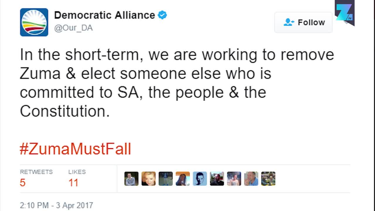 South African MP tweeted for apartheid