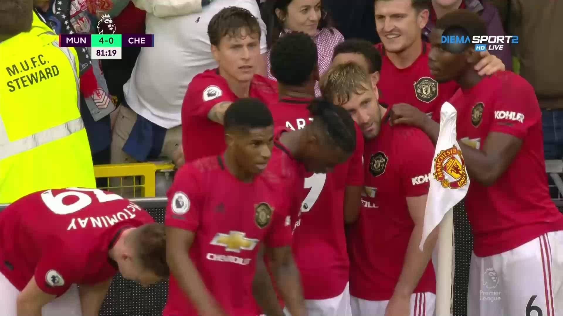 Нов в Юнайтед дебютира с гол срещу Челси