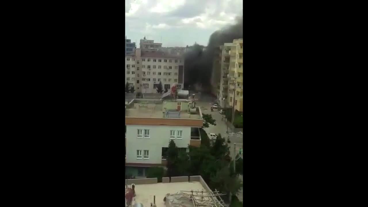 Атентатът в турския град Мидят