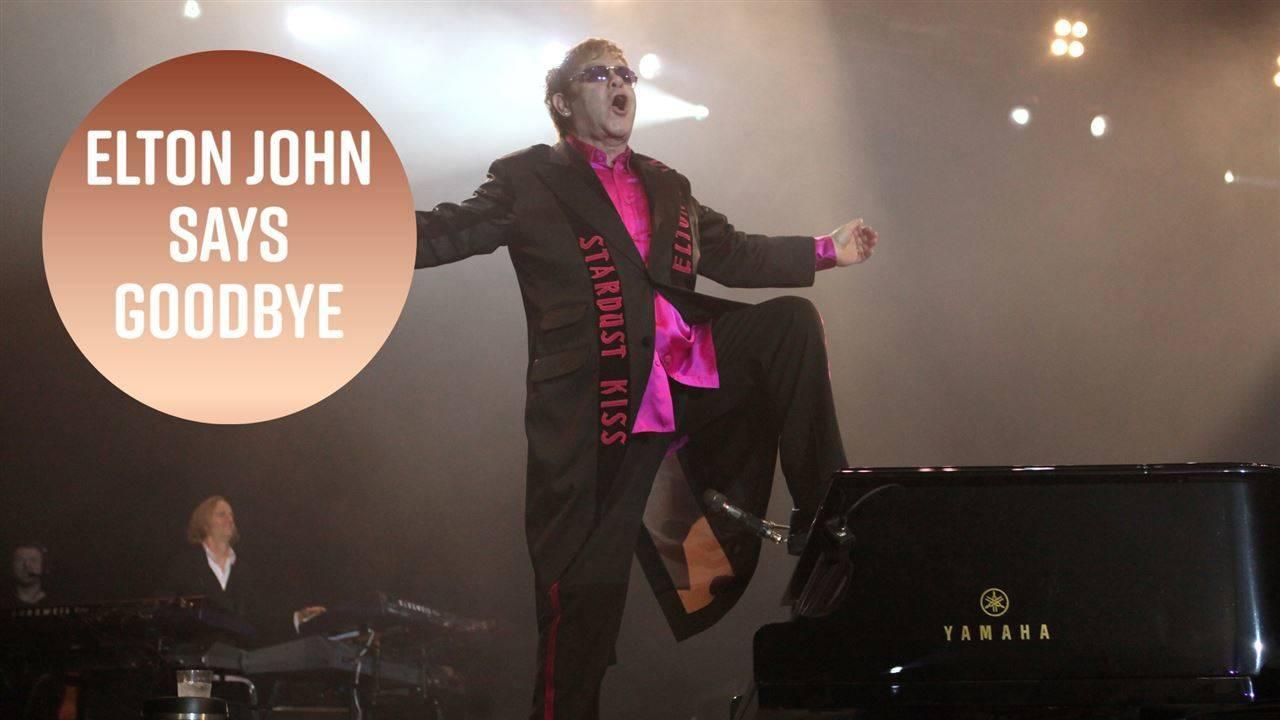 Elton John announces his retirement