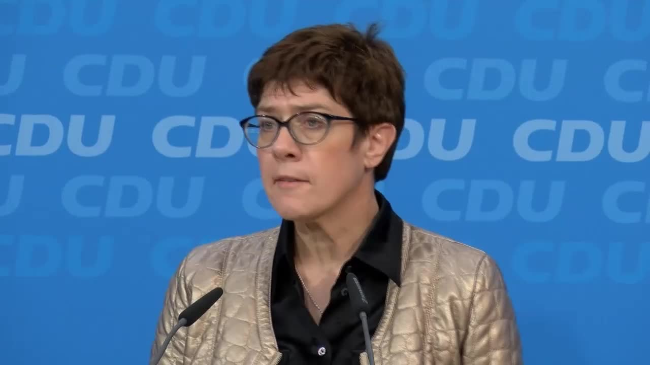 Germany: \'Painful\' state elections results in Hesse - CDU Sec Gen