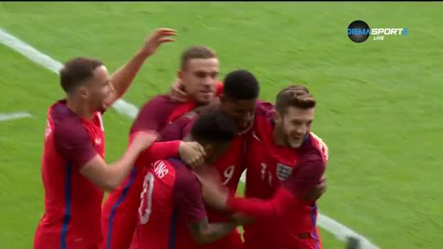 Какъв старт за Рашфорд! Само след 3 минути блесна за Англия