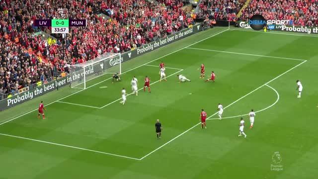 Уникално спасяване на Де Хеа срещу Ливърпул