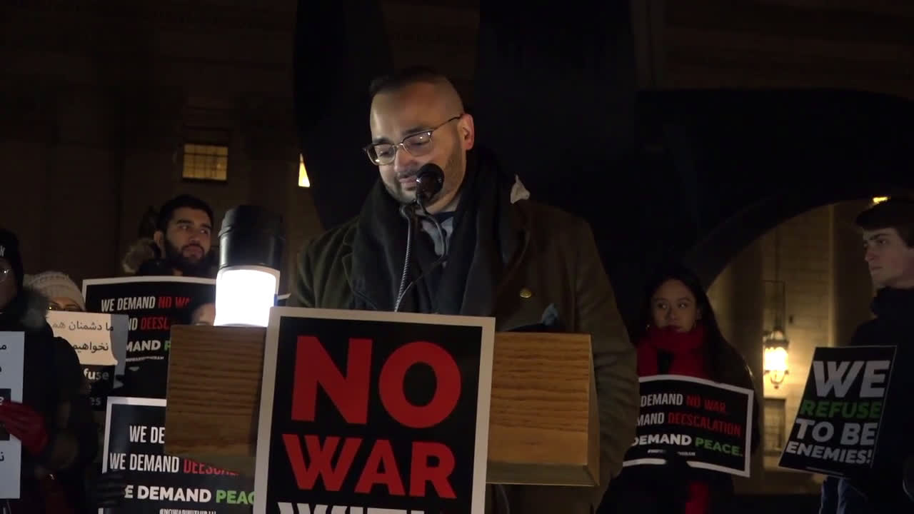 USA: \'No war on Iran\' - protesters rally against Trump\'s Middle East policy