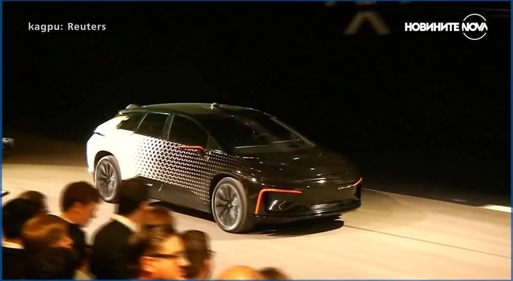 Нов електромобил шофира сам