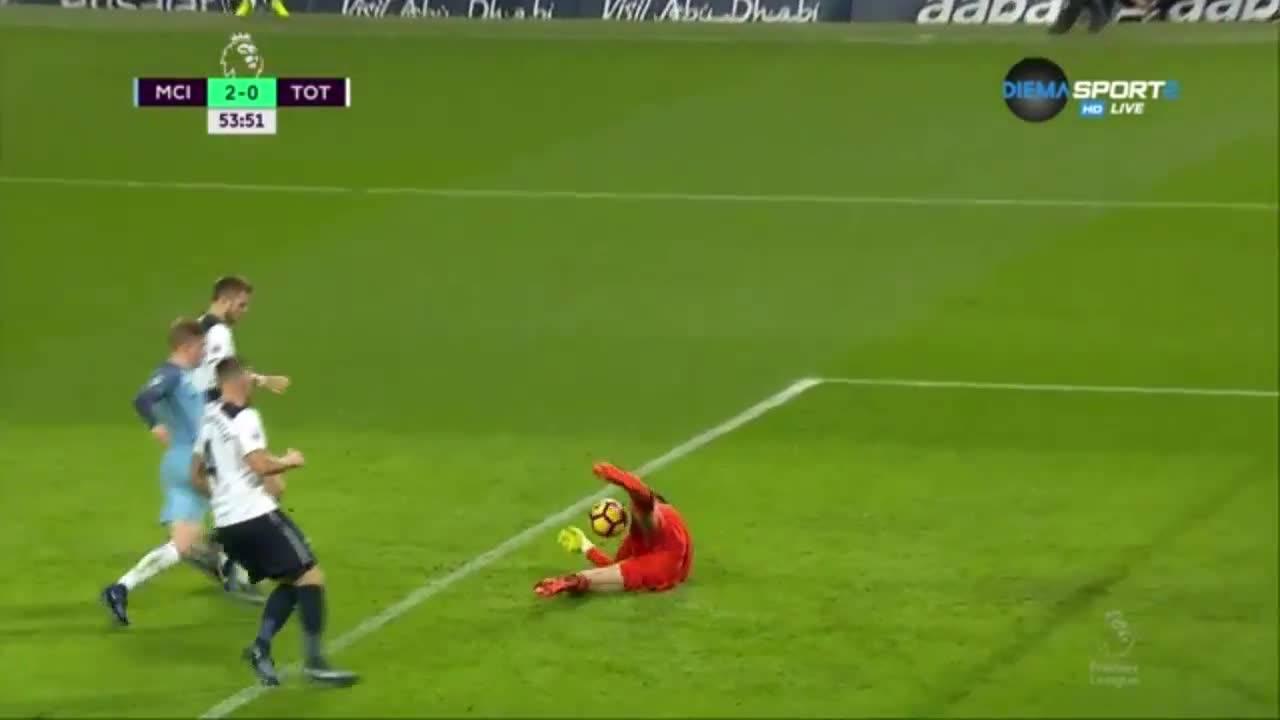 Нова грешка на Лорис, нов гол за Сити