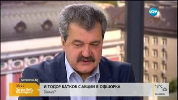 Тодор Батков за собствеността на Левски