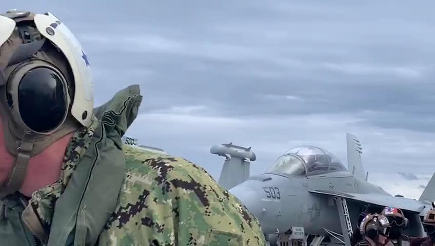 Борисов от US самолетоносач: Ще продължим да оказваме подкрепа на НАТО