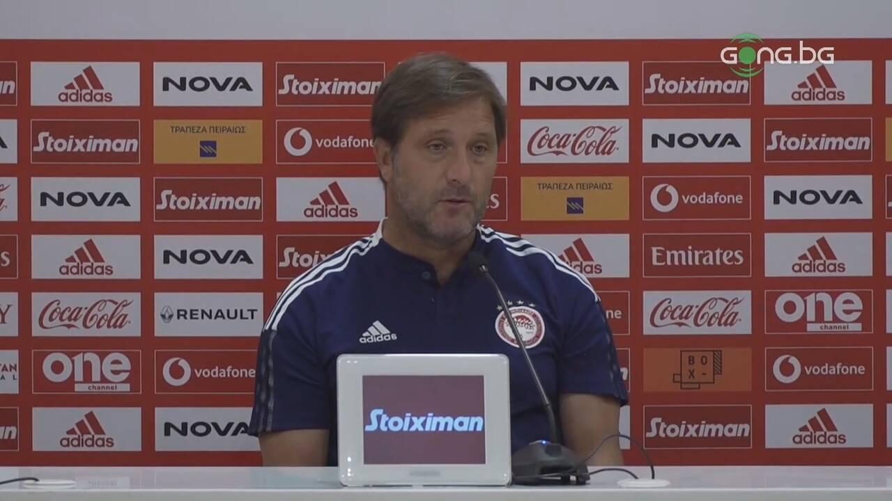 Педро Мартинс: Мислим само за Лудогорец, жегата ще играе роля