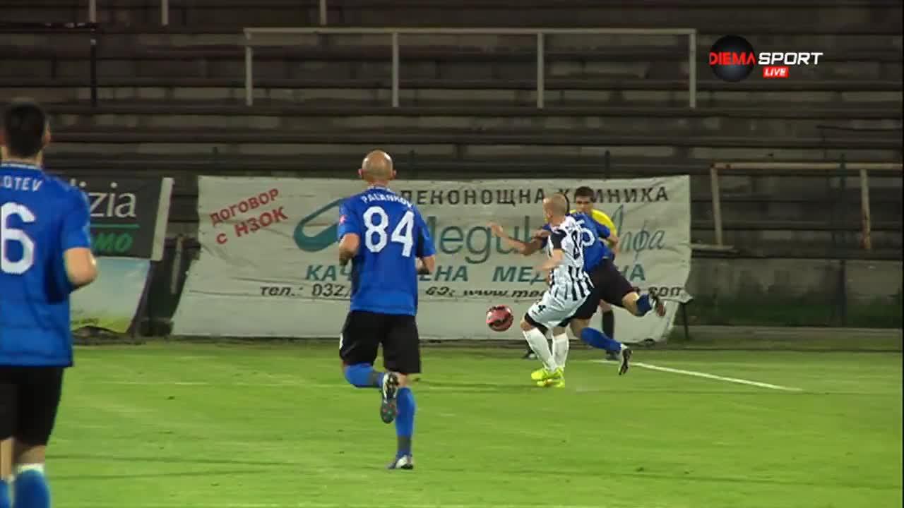 Стефан Станчев получи тежка контузия в мача срещу Локомотив Пловдив