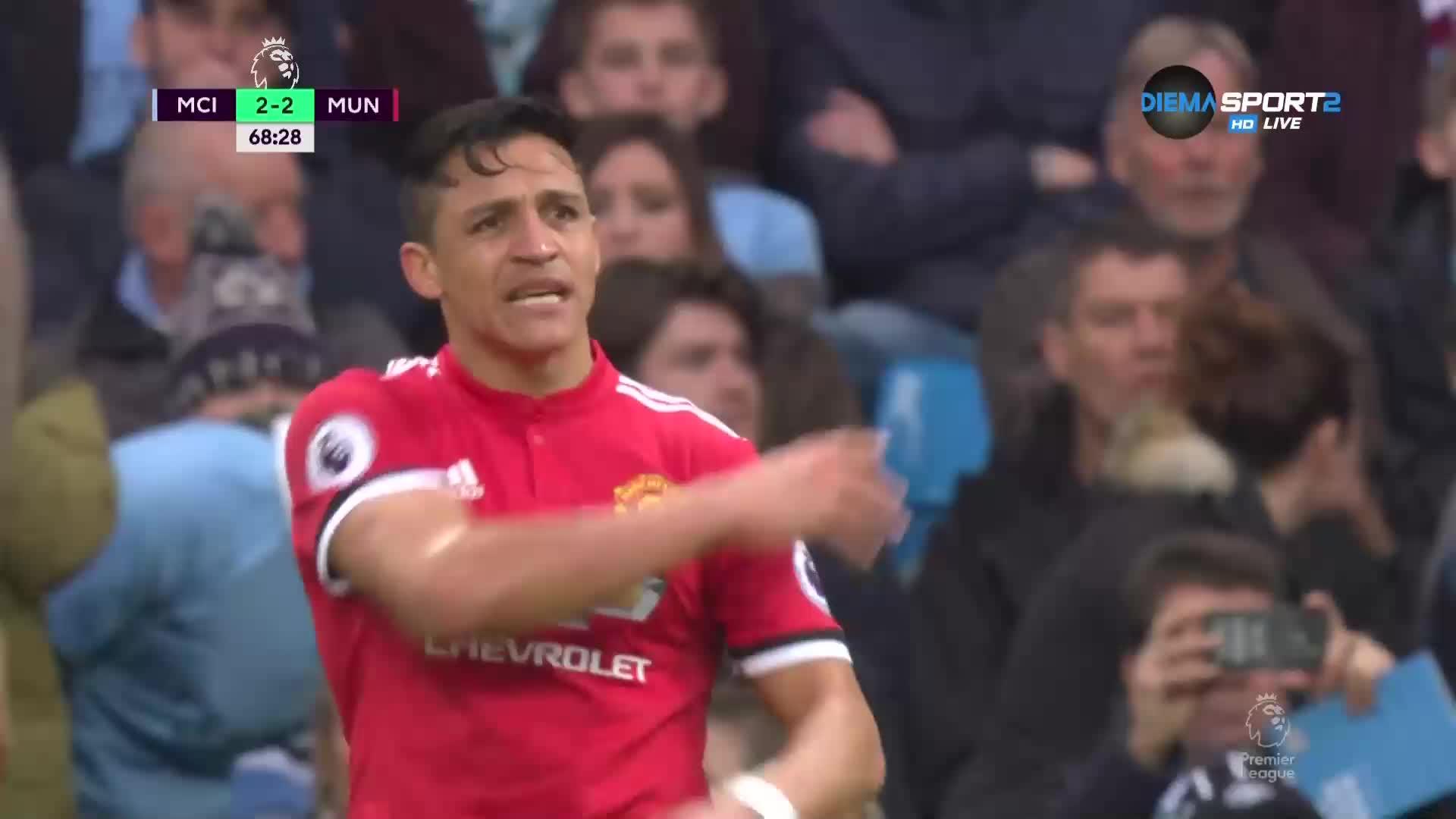 Манчестър Сити - Манчестър Юнайтед 2:3 /репортаж/