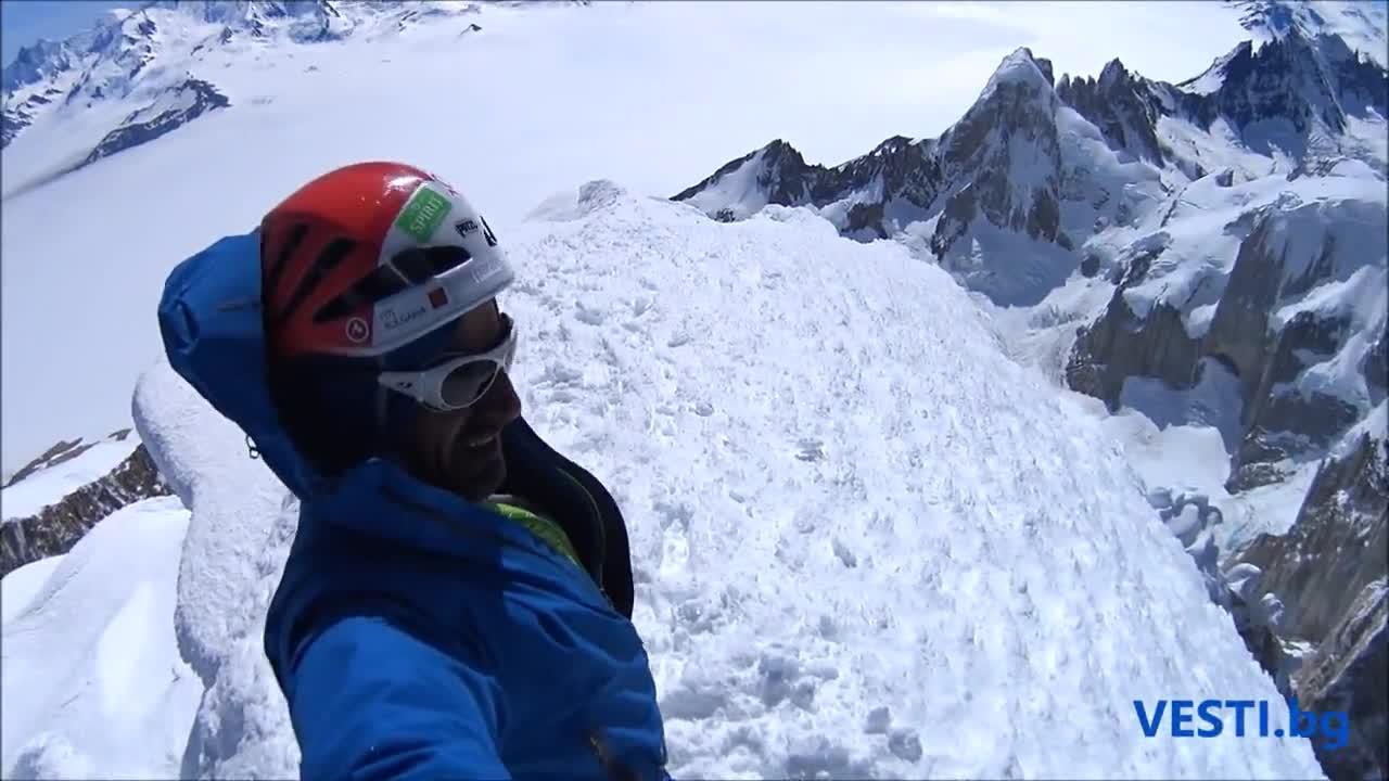 Българи изкачиха за първи път емблематичния връх Серо Торе