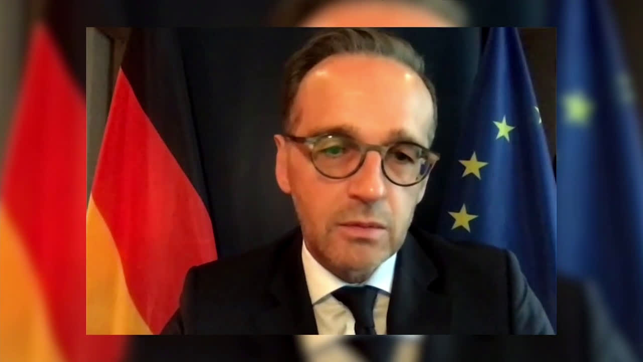 UN: 'EU reserves right to impose sanctions' - German FM Maas on Navalny case