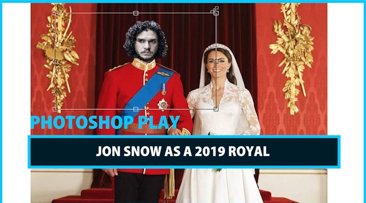 Celeb Photoshop Transformation: Jon Snow as a modern day King