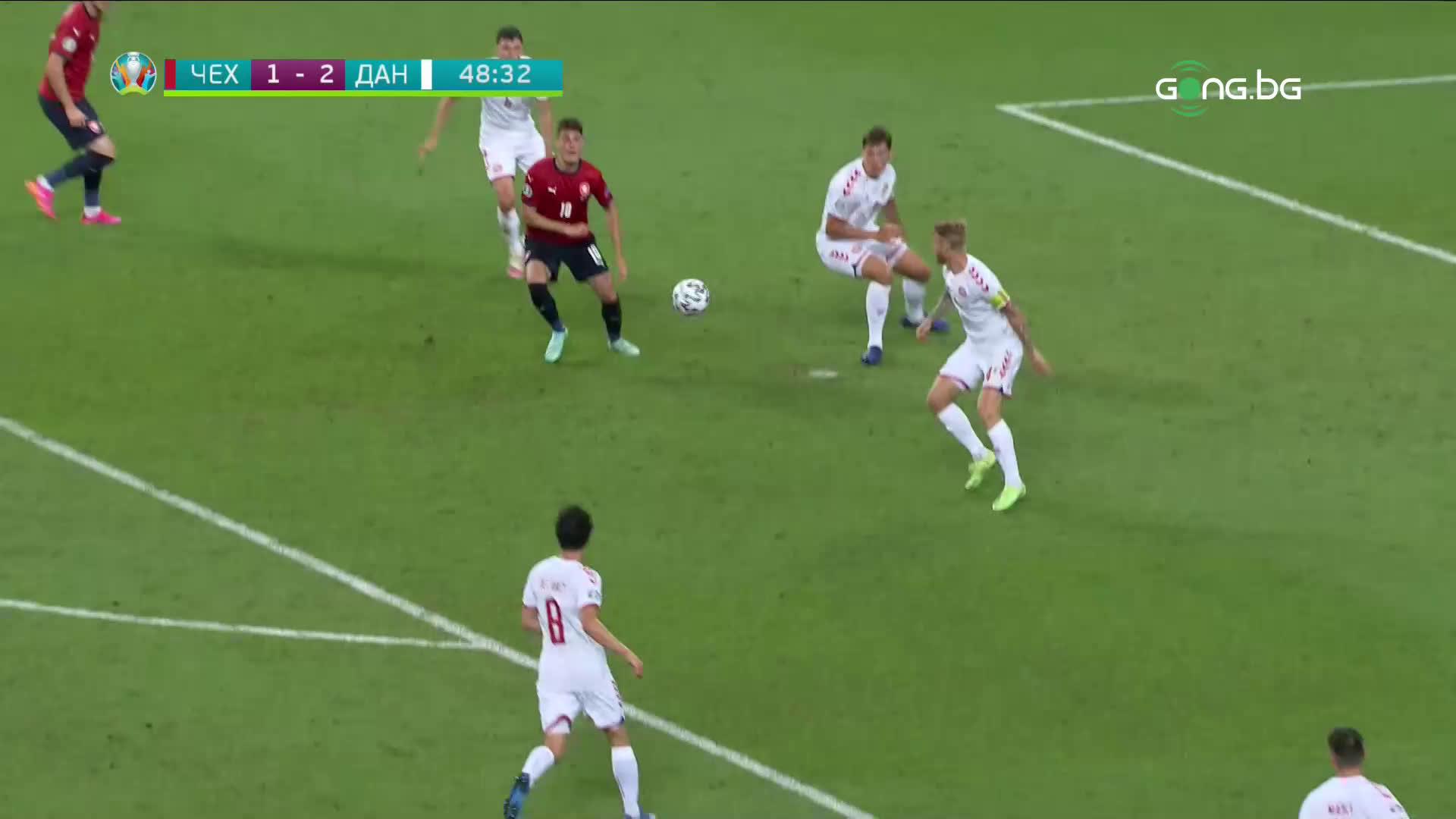 Патрик Шик върна Чехия в играта с редовния си гол