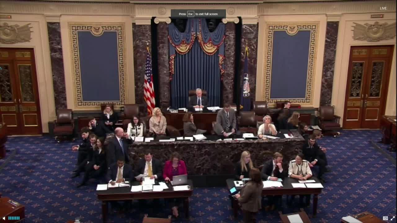 USA: US Senate votes on short-term fix for government shutdown