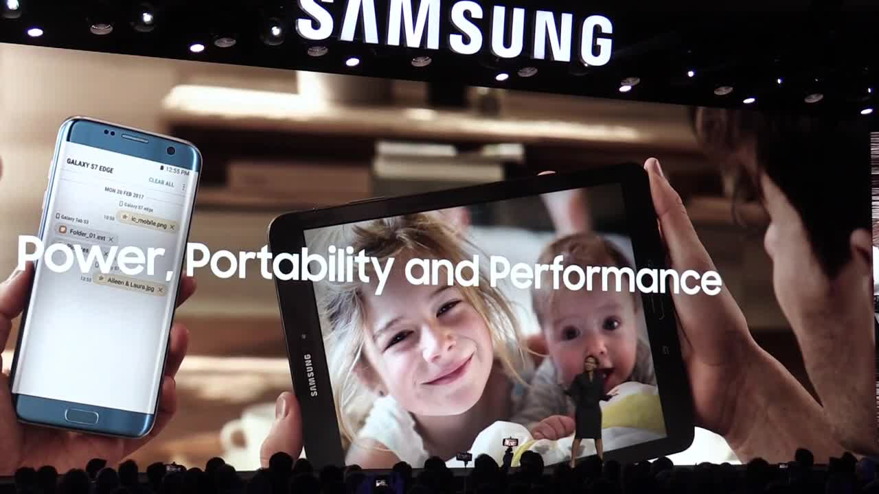 USA: Samsung presents \'smart TV\' at CES 2018 in Las Vegas