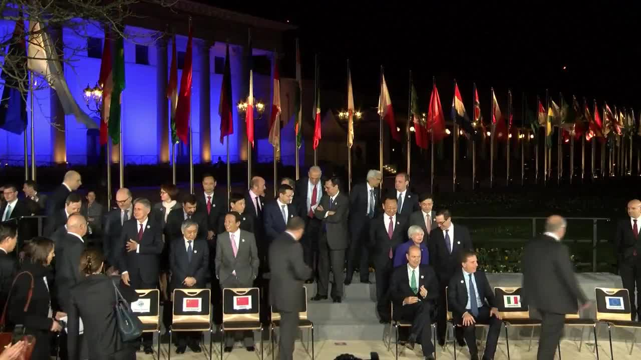 Germany: G20 finance ministers meeting begins in Baden-Baden