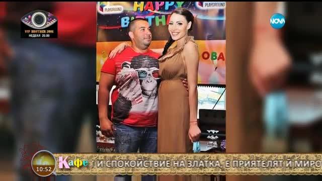 На кафе със Златка Димитрова (08.09.2016)