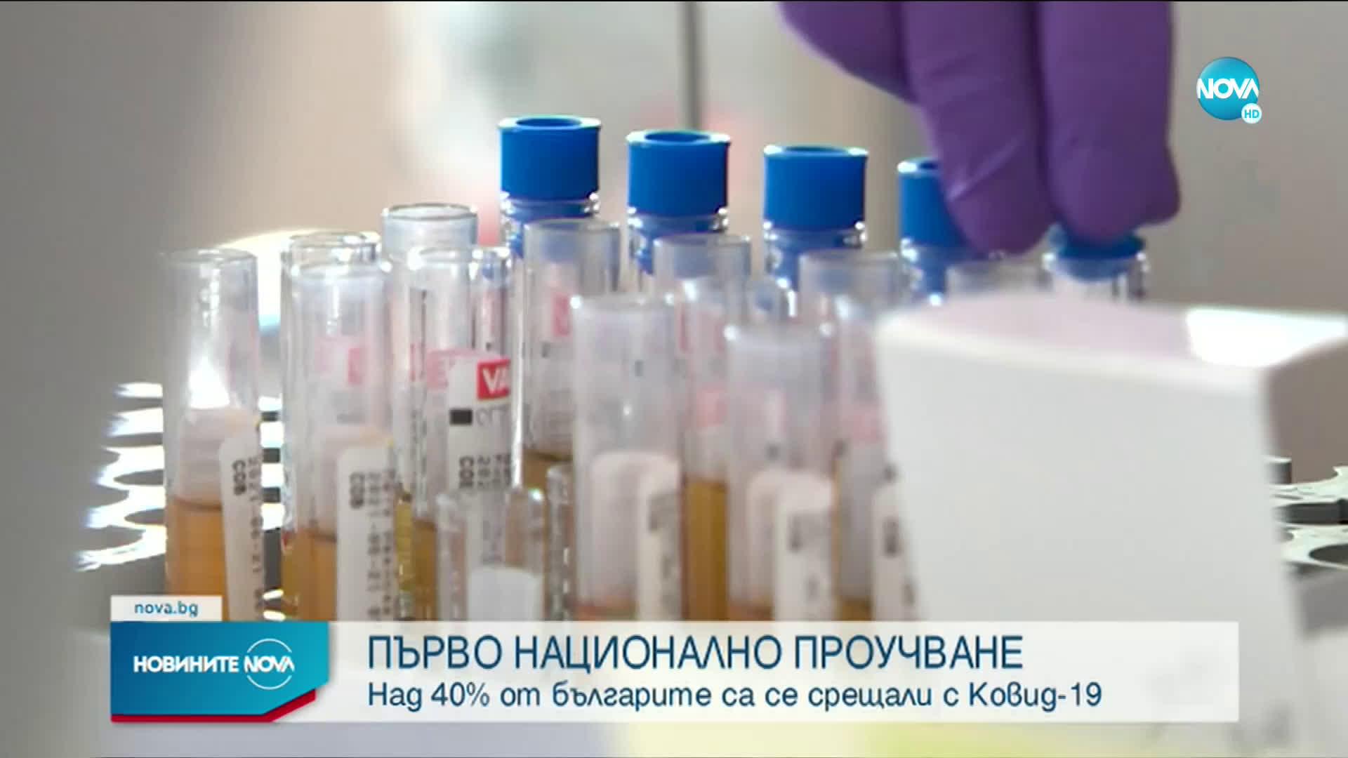 43% от българите са имали досег с коронавируса