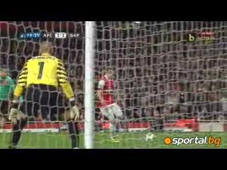 16.2.2011 Арсенал - Барселона 2 - 1 Шампионска лига 1/8 финал