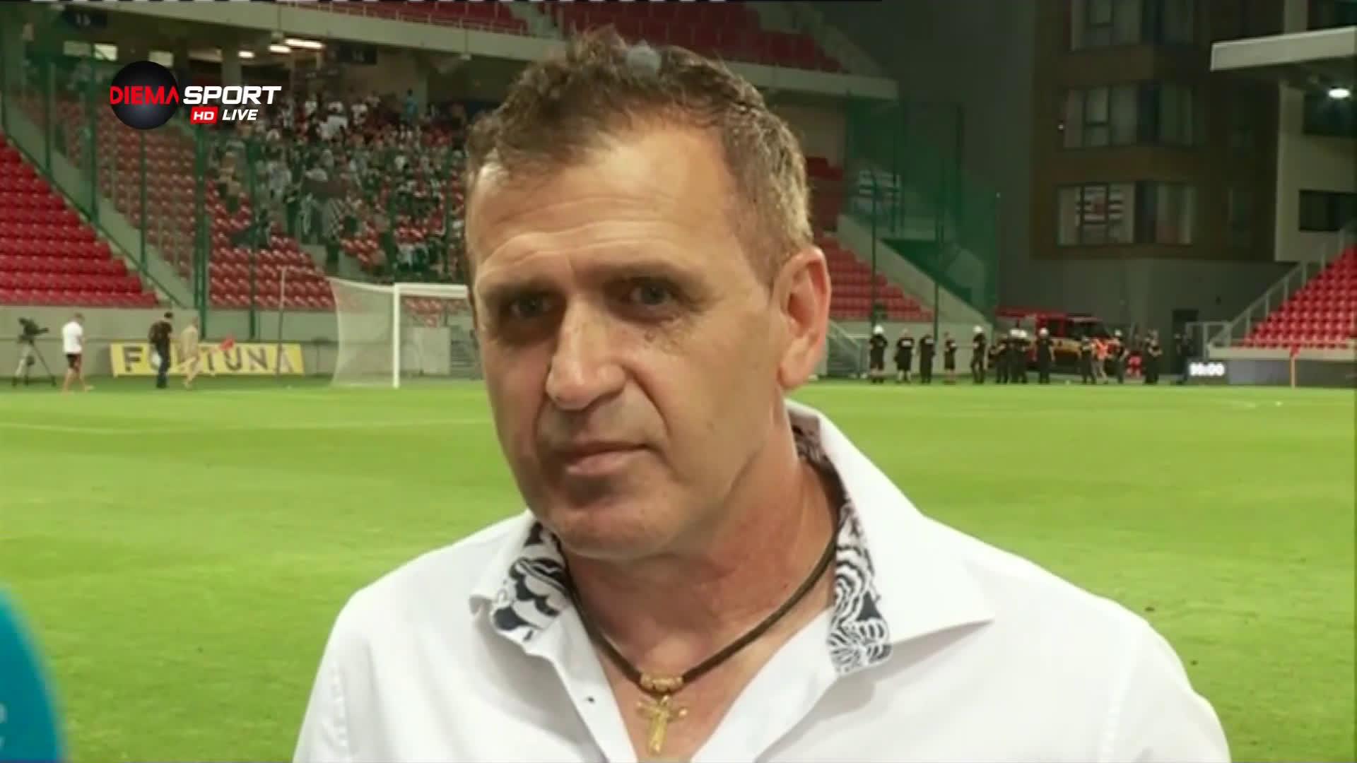Акрапович: Вярвам, че имаме шансове срещу Страсбург
