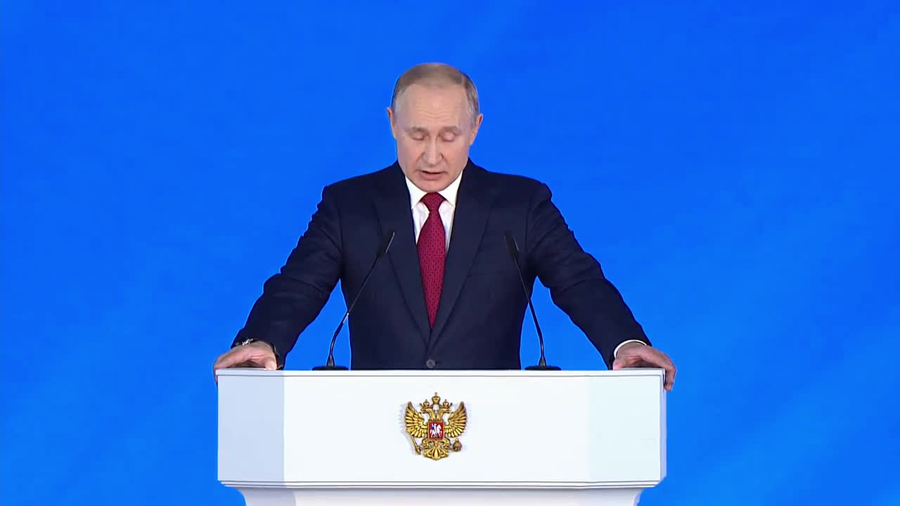 Russia: \'We don't threaten anyone and don't seek to impose our will\' - Putin