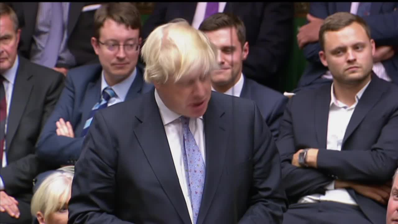 UK: \'Not too late to save Brexit\' - Boris Johnson in resignation speech