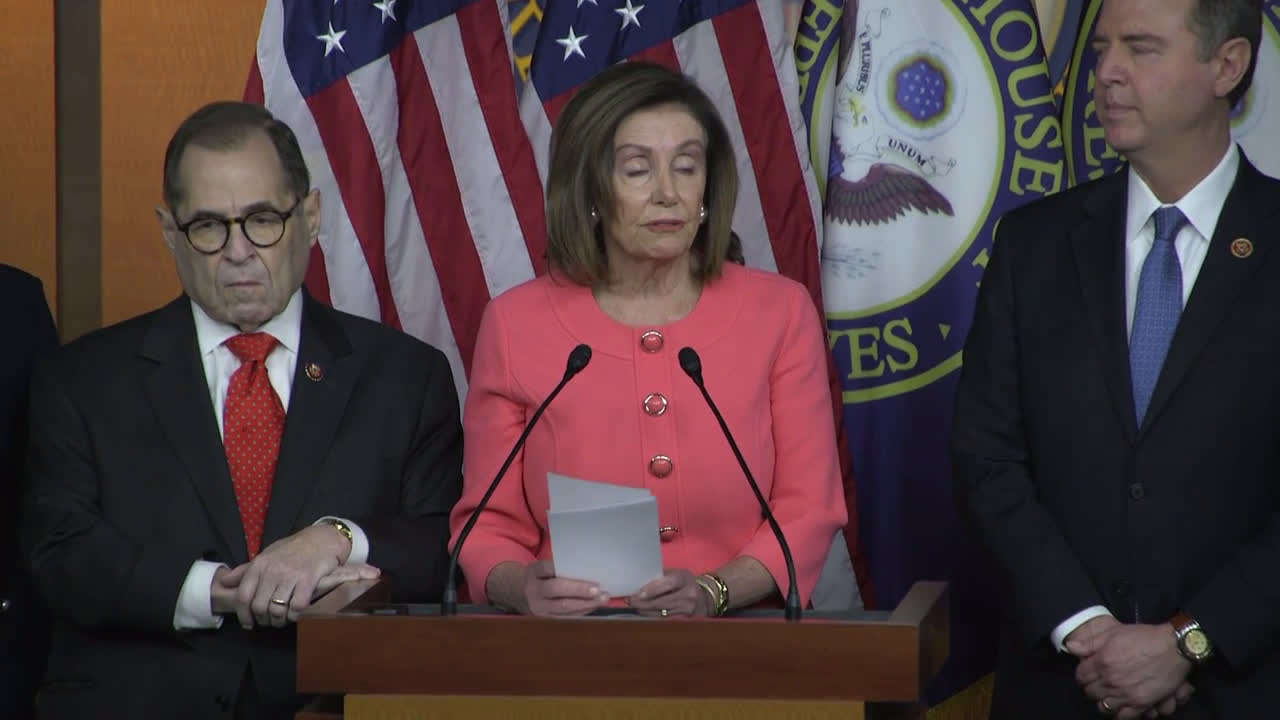 USA: House Speaker Pelosi unveils team of impeachment managers