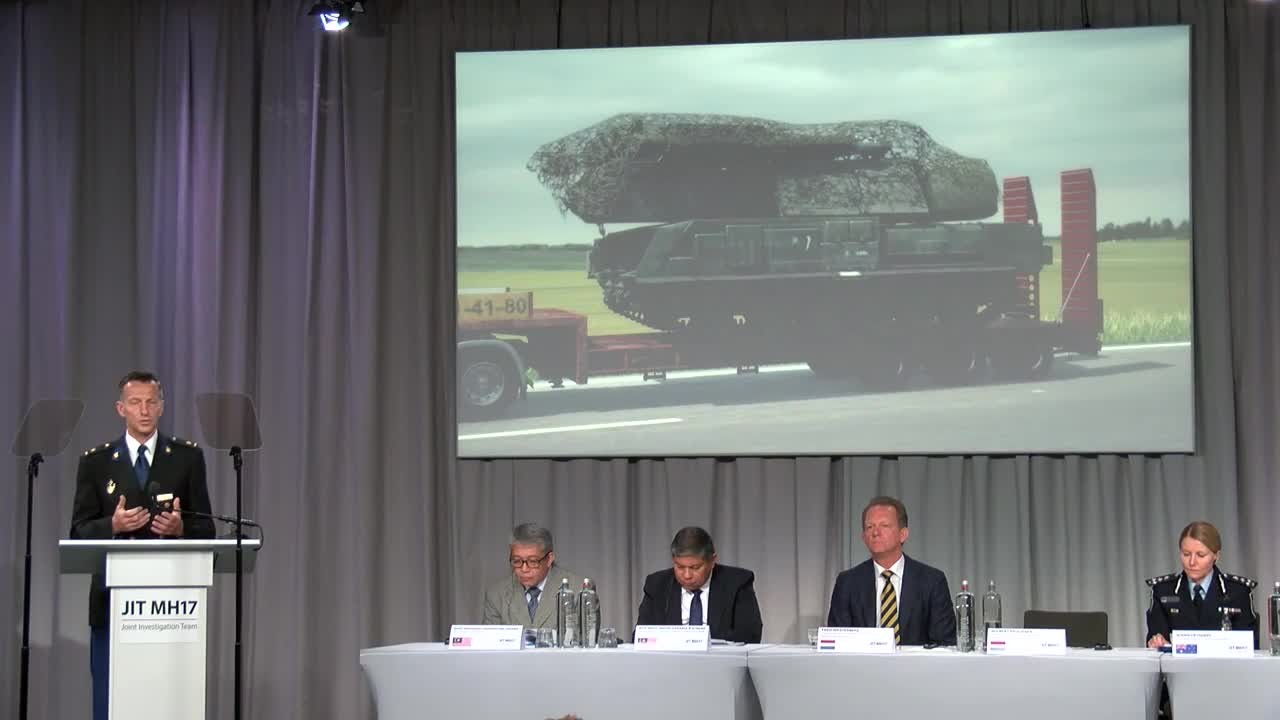 Netherlands: Investigators claim MH17 missile system belonged to Russian military
