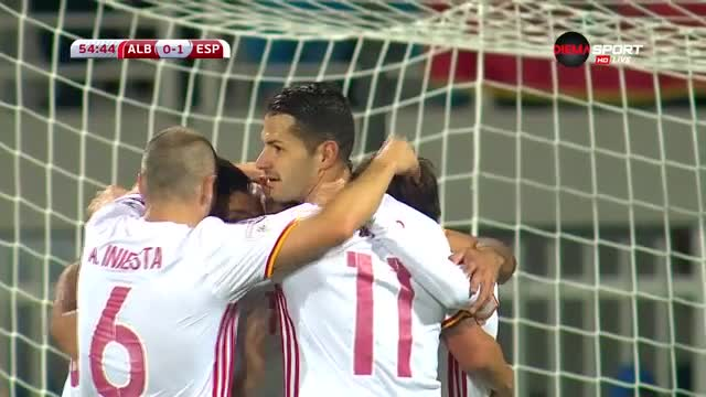 Албания - Испания 0:2 /репортаж/