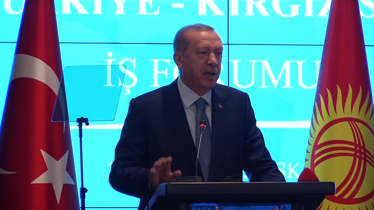 Kyrgyzstan: Erdogan vows to end \'dependence on the dollar\' in world trade