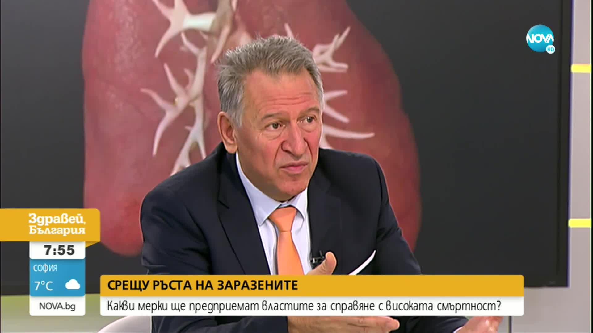 Кацаров: Утре може да обявим допълнителни мерки срещу инфекцията