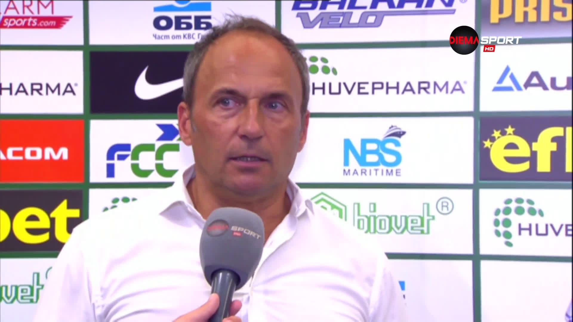 Дарко Миланич: Лудогорец го очаква още от същото в реванша