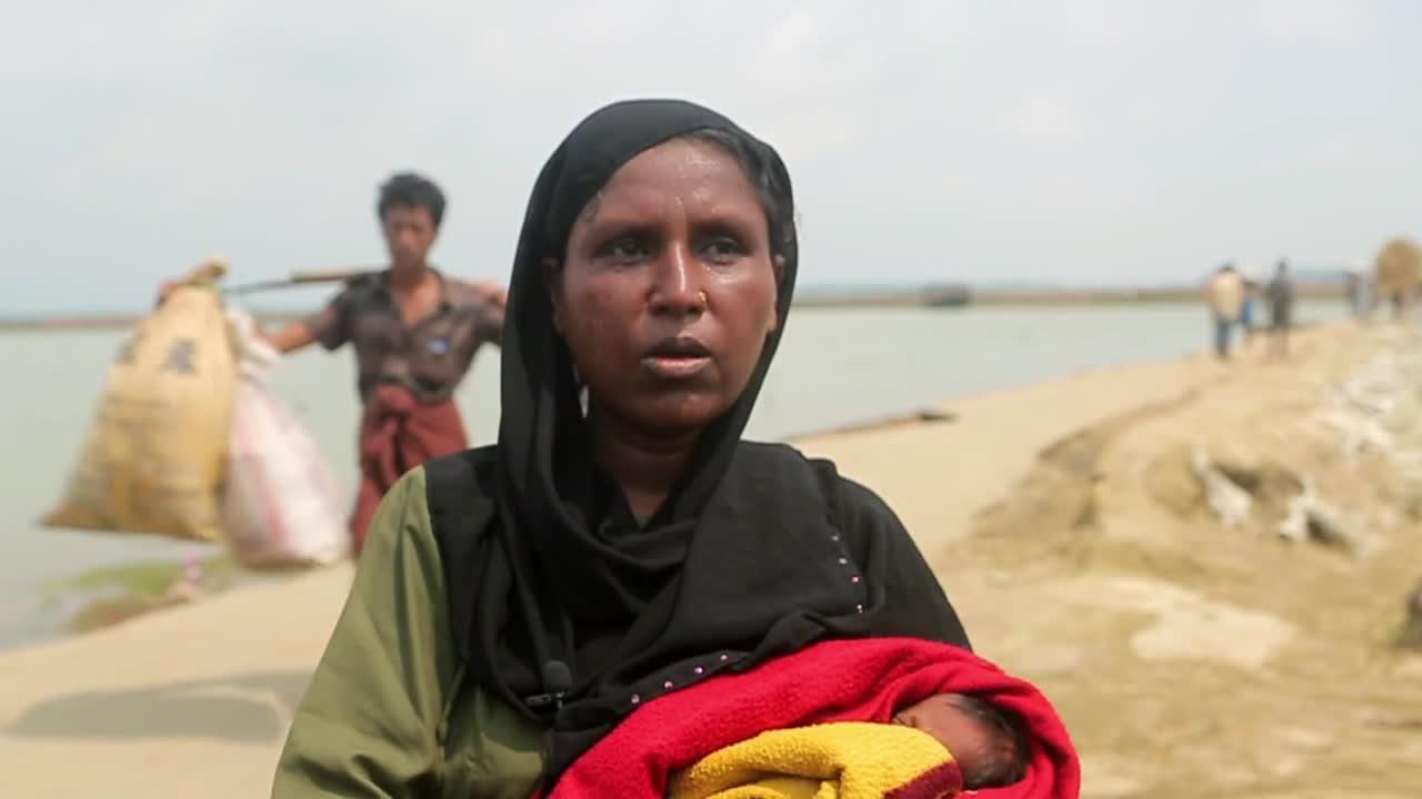 Bangladesh: \'They tortured us a lot\' - Rohingya Muslim refugees recount fleeing Myanmar