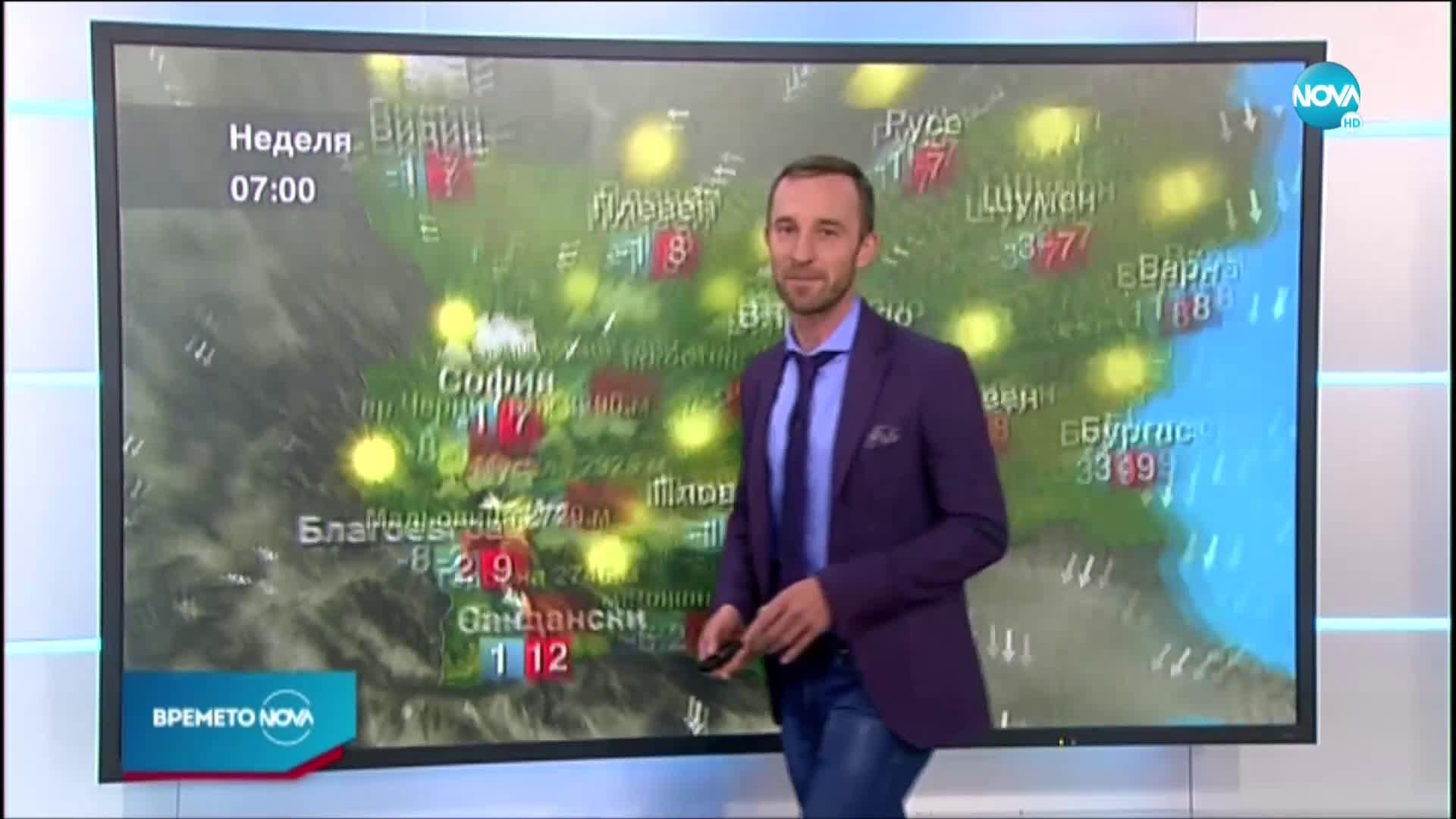 Прогноза за времето (22.11.2020 - обедна емисия)