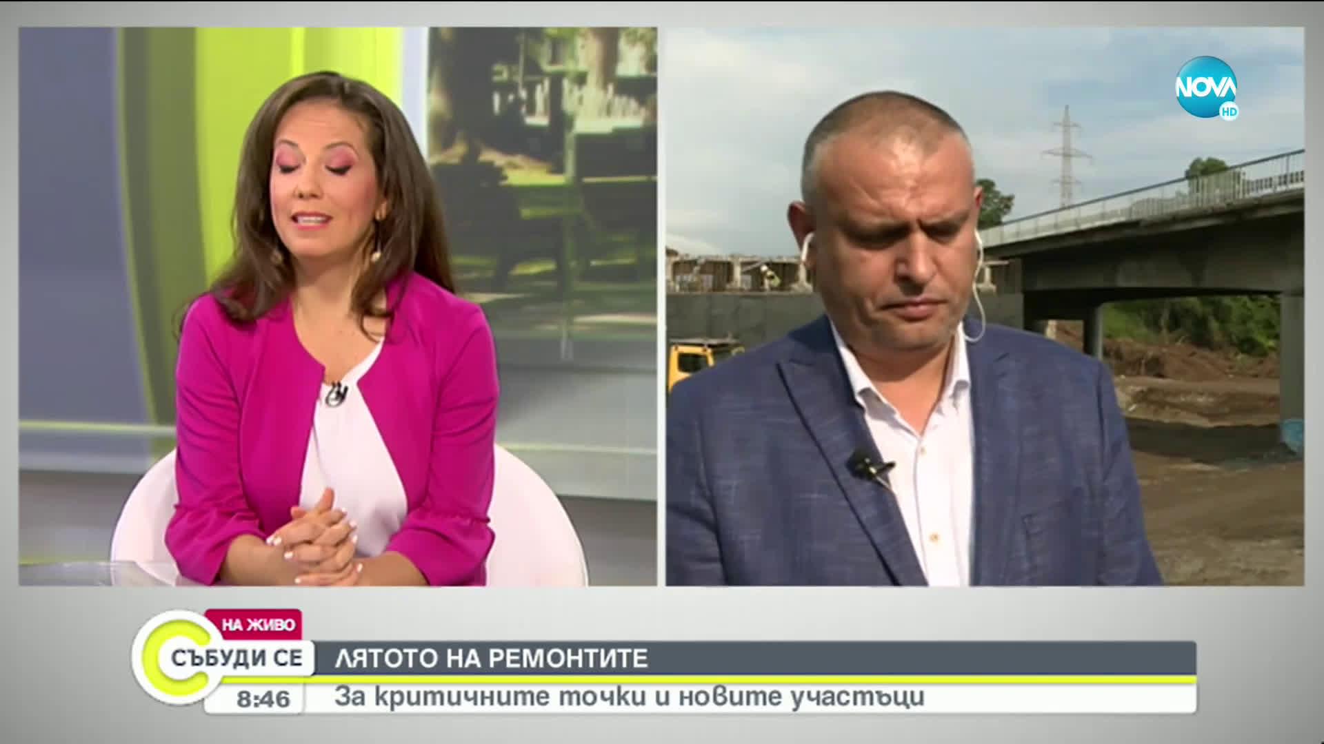 """Терзийски: Част от ремонтите на АМ """"Тракия"""" трябва да завършат до края на юни"""