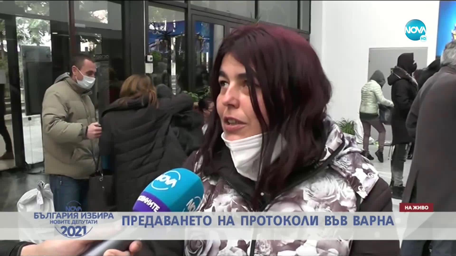 Хаос с обработката на протоколи във Варна