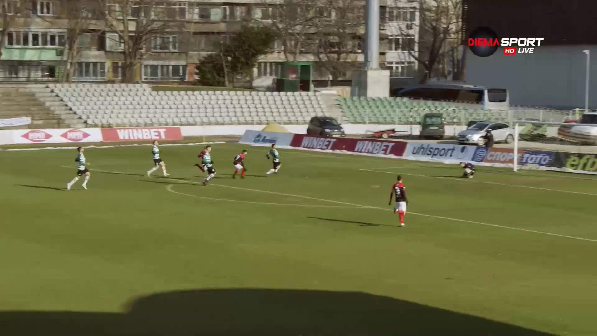 Черно море - Локомотив Пловдив 0:0 /първо полувреме/