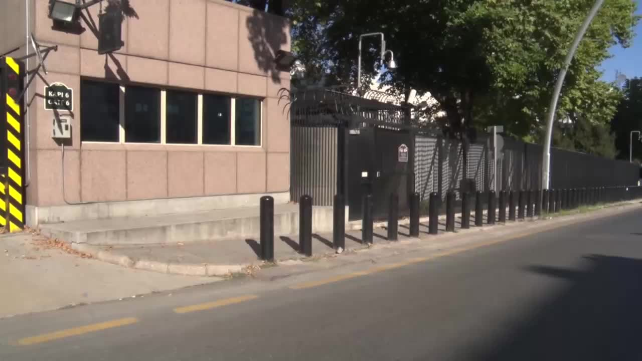 Turkey: Shots fired at Ankara's US Embassy, no casualties reported