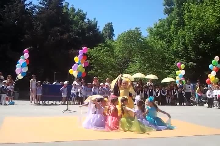 1-ви юни 2015г. - Децата от Одз 3 Делфинче гр. Варна